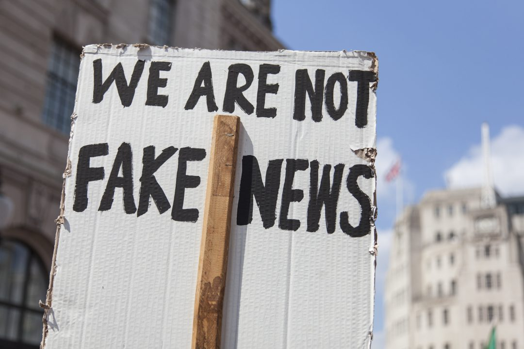 Fake news, misinformation