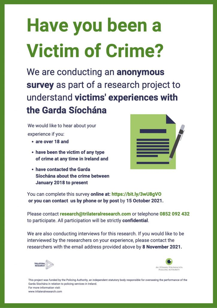 Have you been a Victim of Crime
