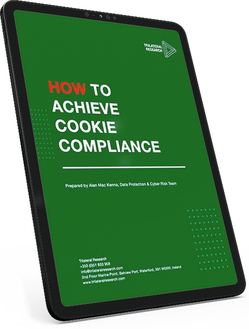 cookie compliance ipad 1